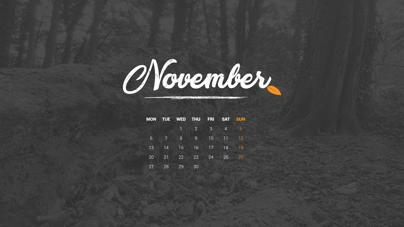 Autumn_In_November_November_2017_Calendar_Wallpaper