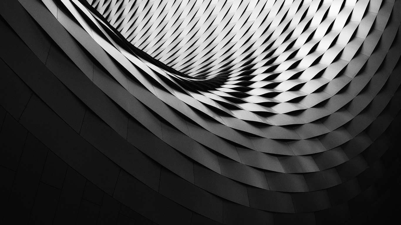 Black_white_abstract_architecture_2017_HD_Wallpaper