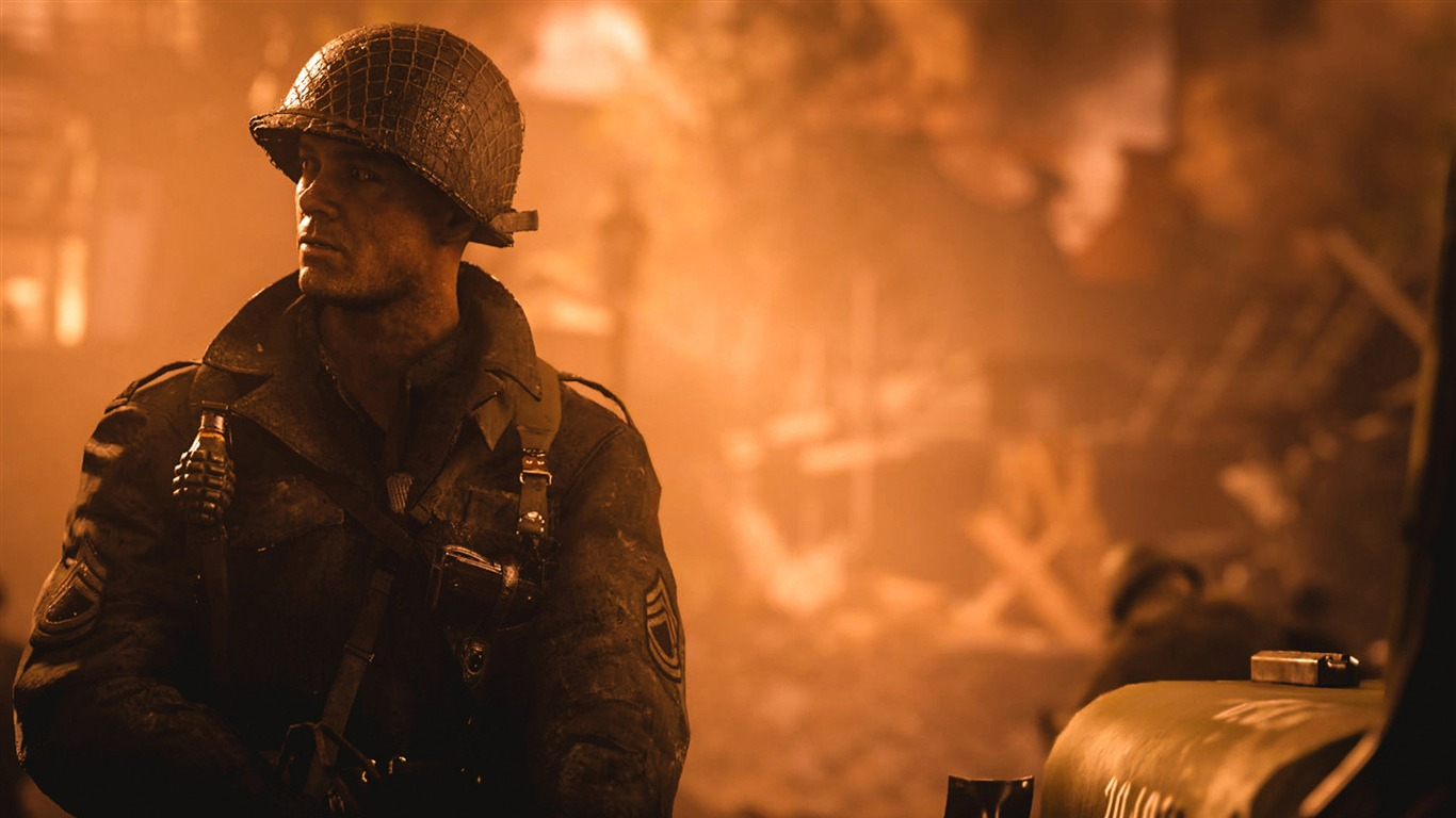 Call_Of_Duty_WW2_2017_Game_Wallpapers