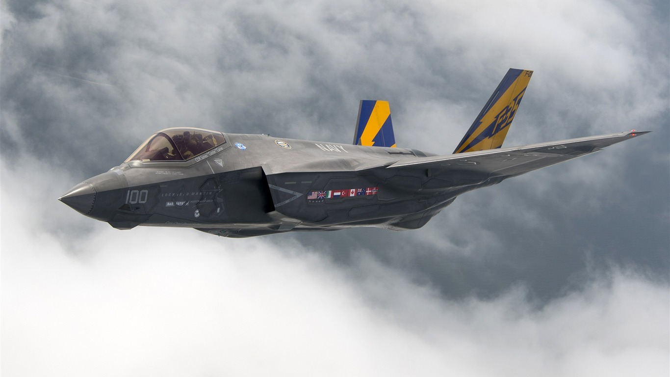 F35_lightning_ii_stealth_fighter_Aircraft_HD_Wallpaper