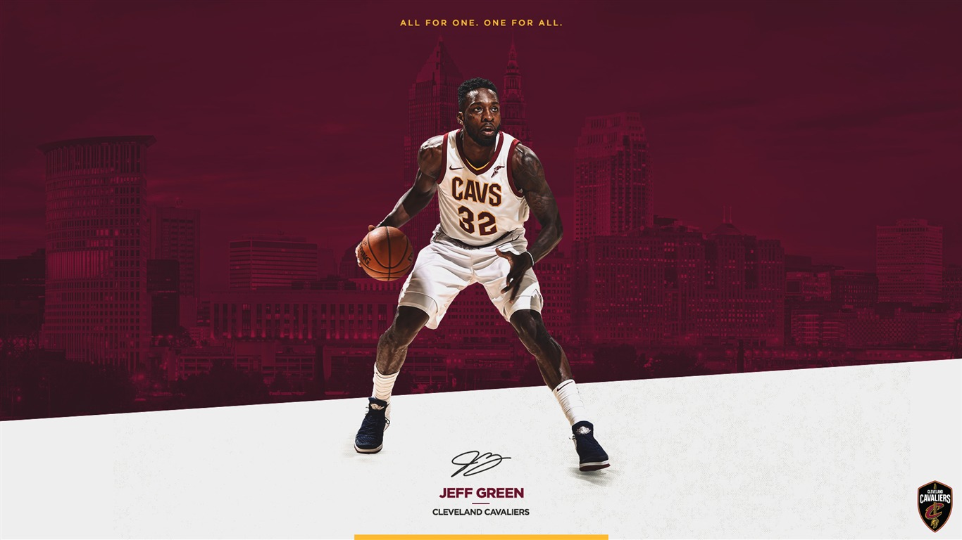 Jeff_Green_Cavaliers_2017-2018_Players_Wallpaper