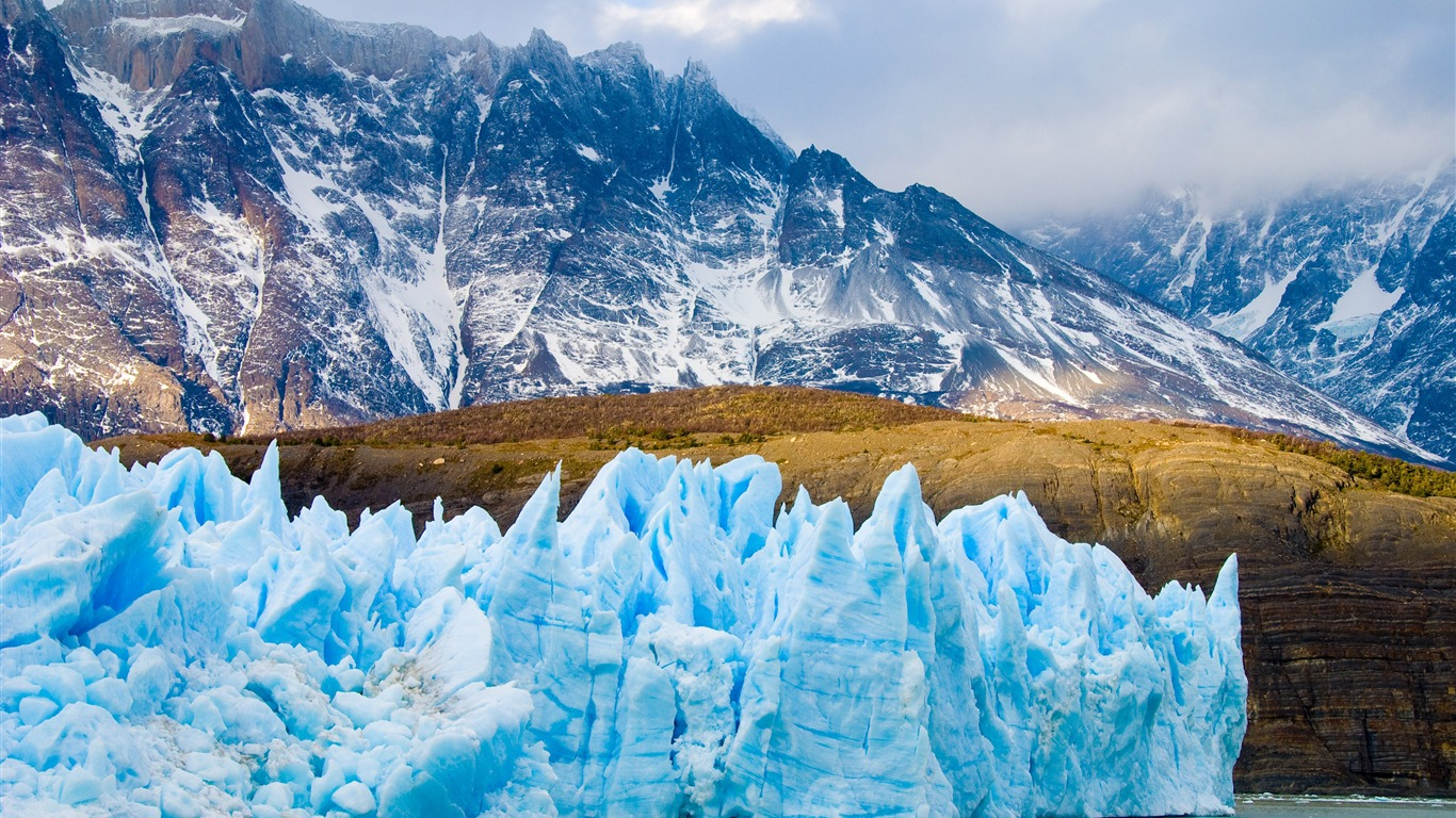 Chile_snow_mountains_glacier_HD_Scenery_Photography