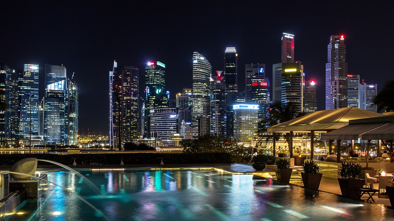 Singapore_night_skyscrapers_photography_4K_HD