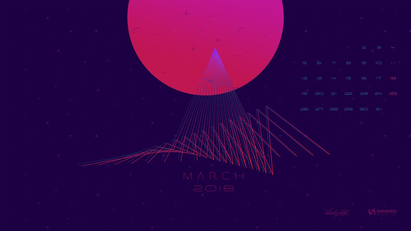 The_Unknown_March_2018_Calendars
