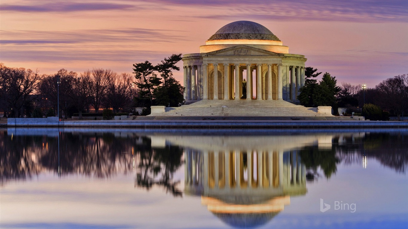 Washington Thomas Jefferson Memorial 2018 Bing Preview