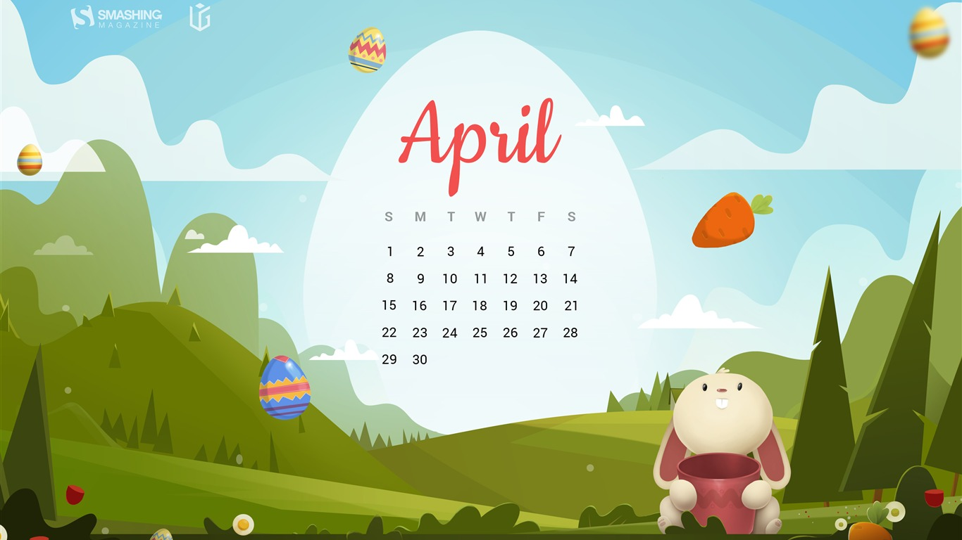 Enjoy_Easter_Day_April_2018_Calendars