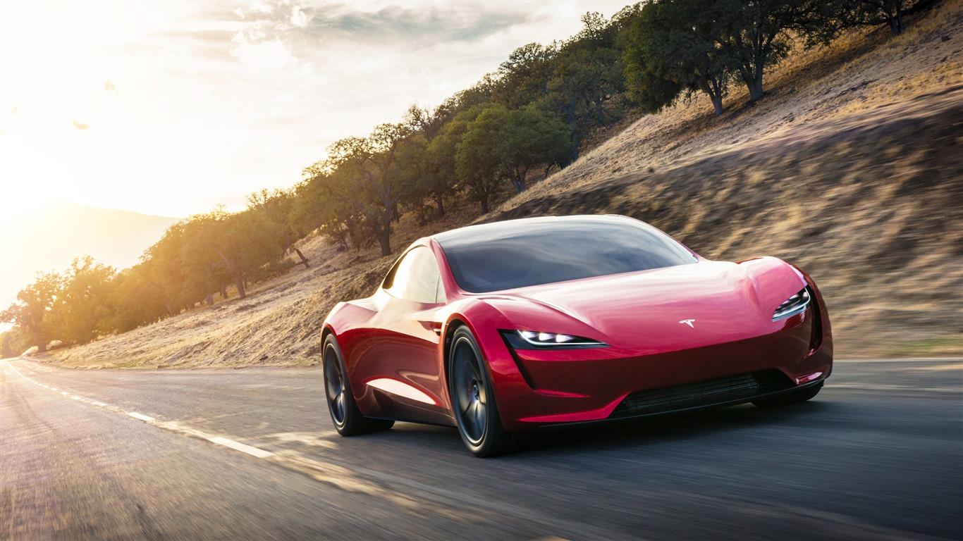 2020 Tesla Roadster >> 特斯拉,Roadster,2020,超级电动汽车预览   10wallpaper.com
