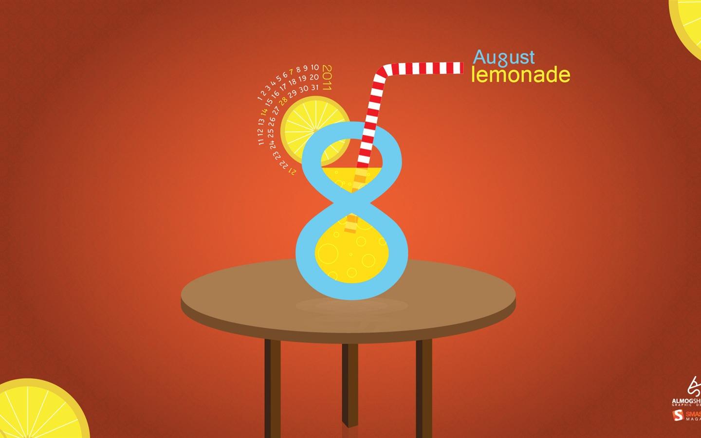 2011年8月壁纸八月柠檬水