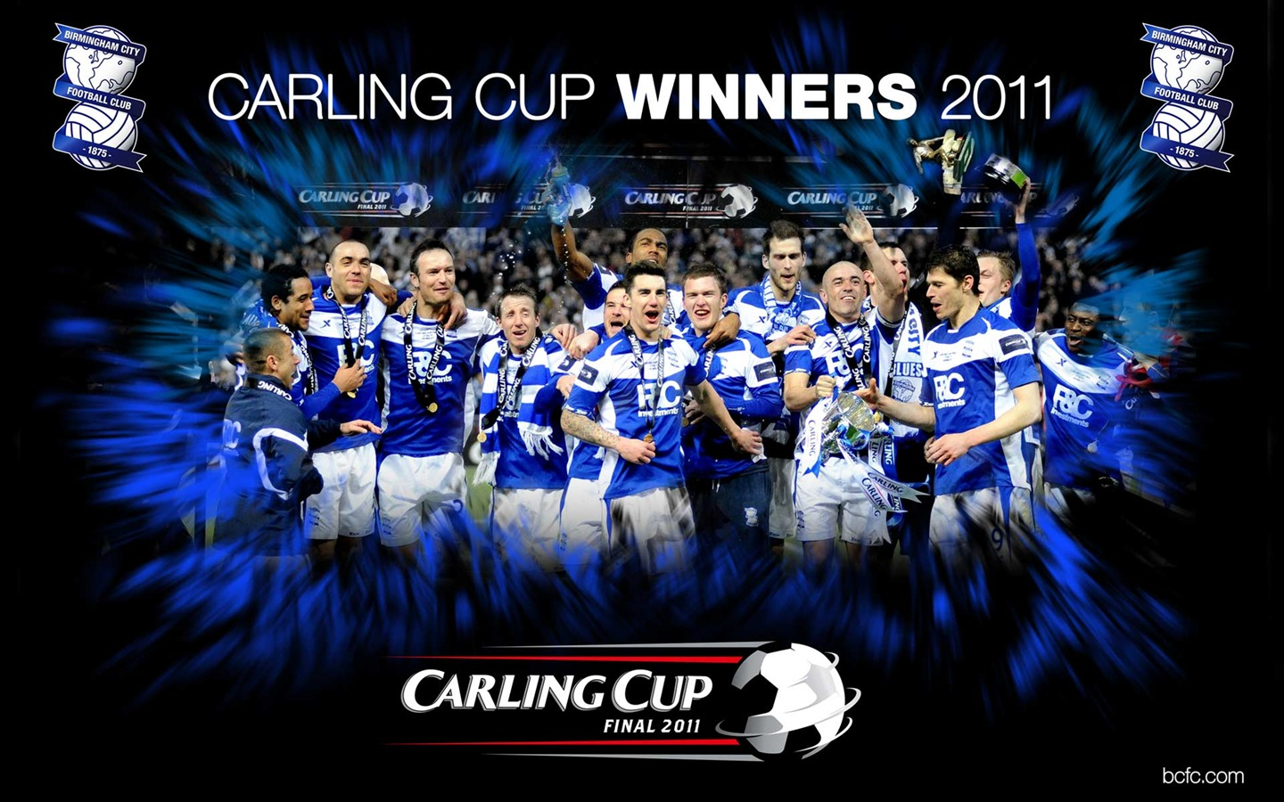 Birmingham City 2010-11 Season Wallpaper