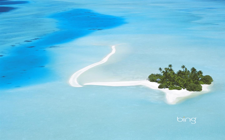 美丽的海岛-2013年八月Bing壁纸-1440x900下载 | 10wallpaper.com