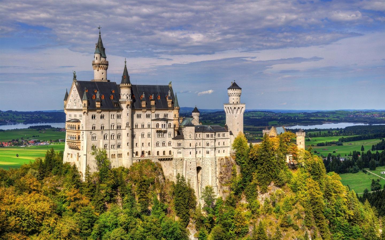 德国新天鹅堡高清摄影壁纸