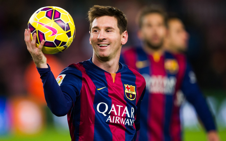 莱昂内尔·梅西球员-2016年足球明星高清壁纸 - 1440x900 壁纸 下载