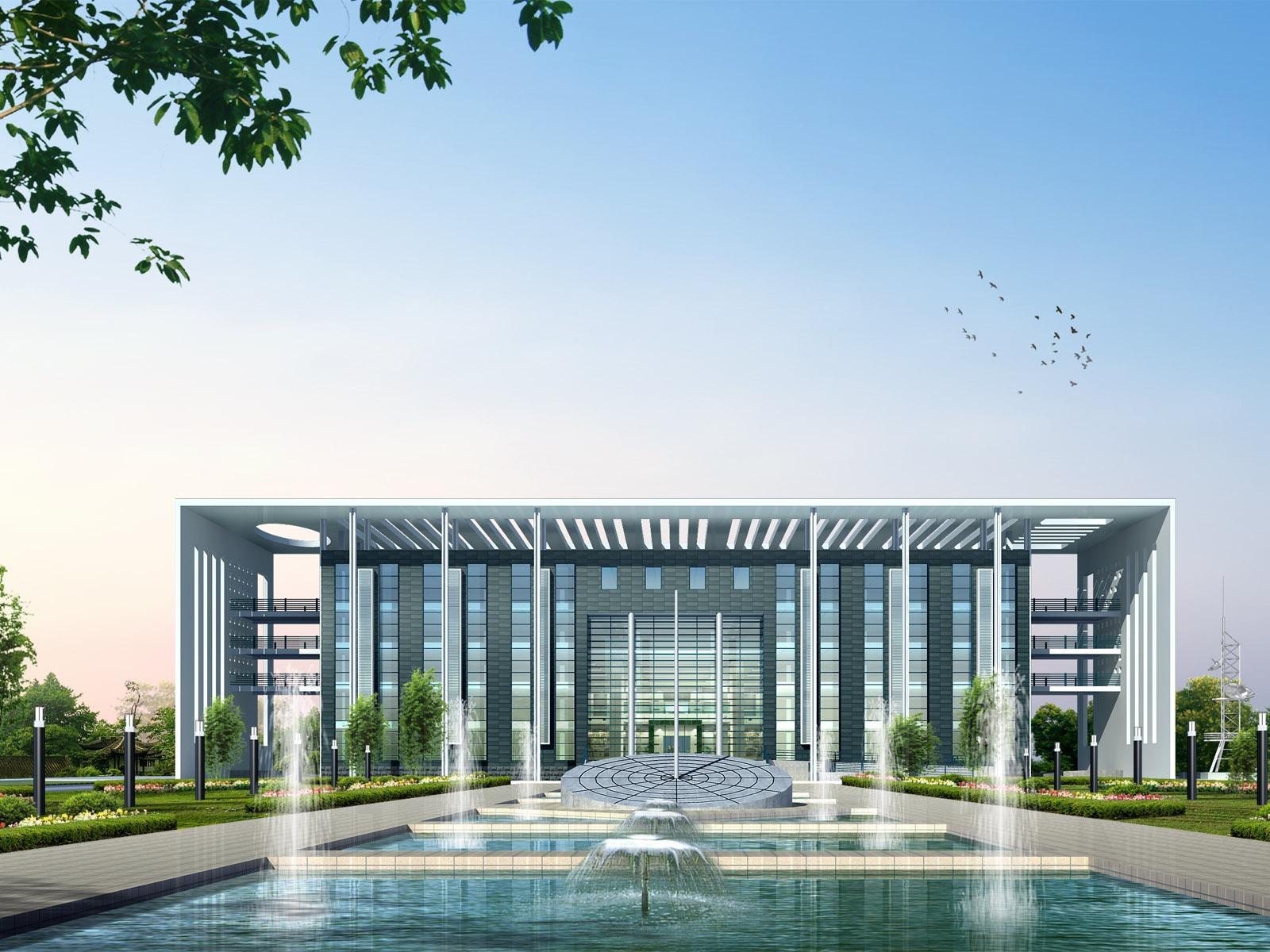 Architecture Design 3d Architectural Renderings 1600x1200
