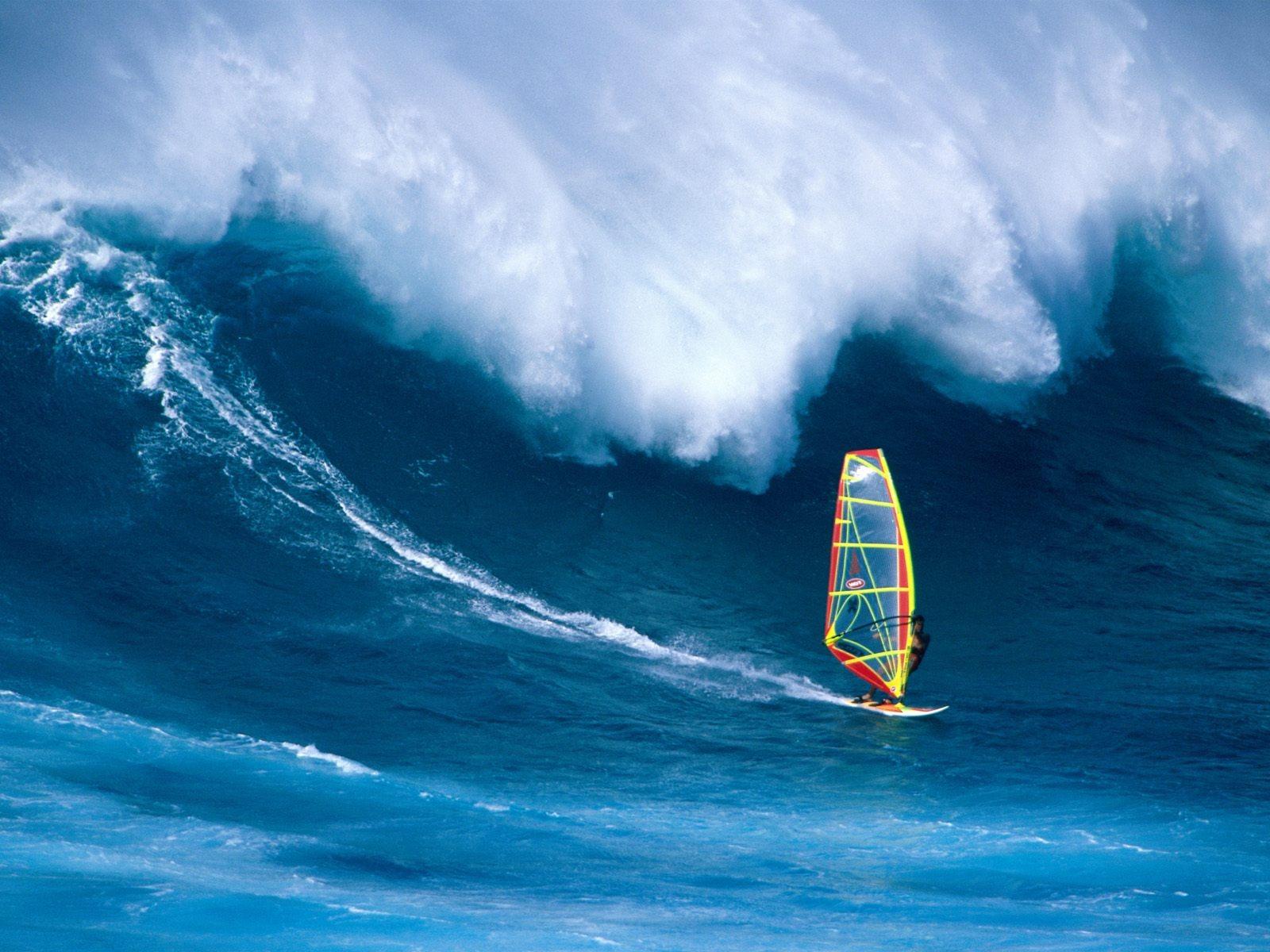 Outdoor Sports Wallpaper 24 Wallpapers: 帆板冲浪-户外运动壁纸-第二辑预览