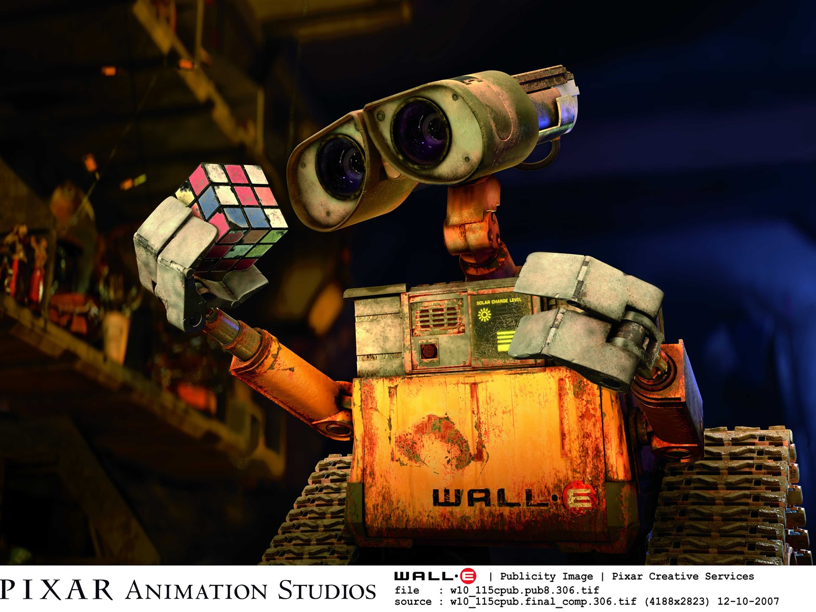 迪士尼电影 机器人总动员WALL E壁纸