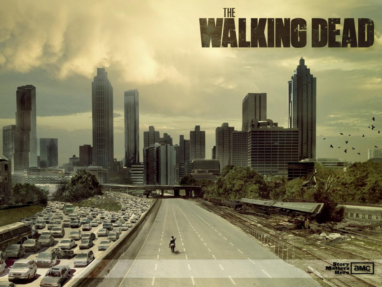 The Walking Dead American Tv Series Wallpaper 16 1600x1200