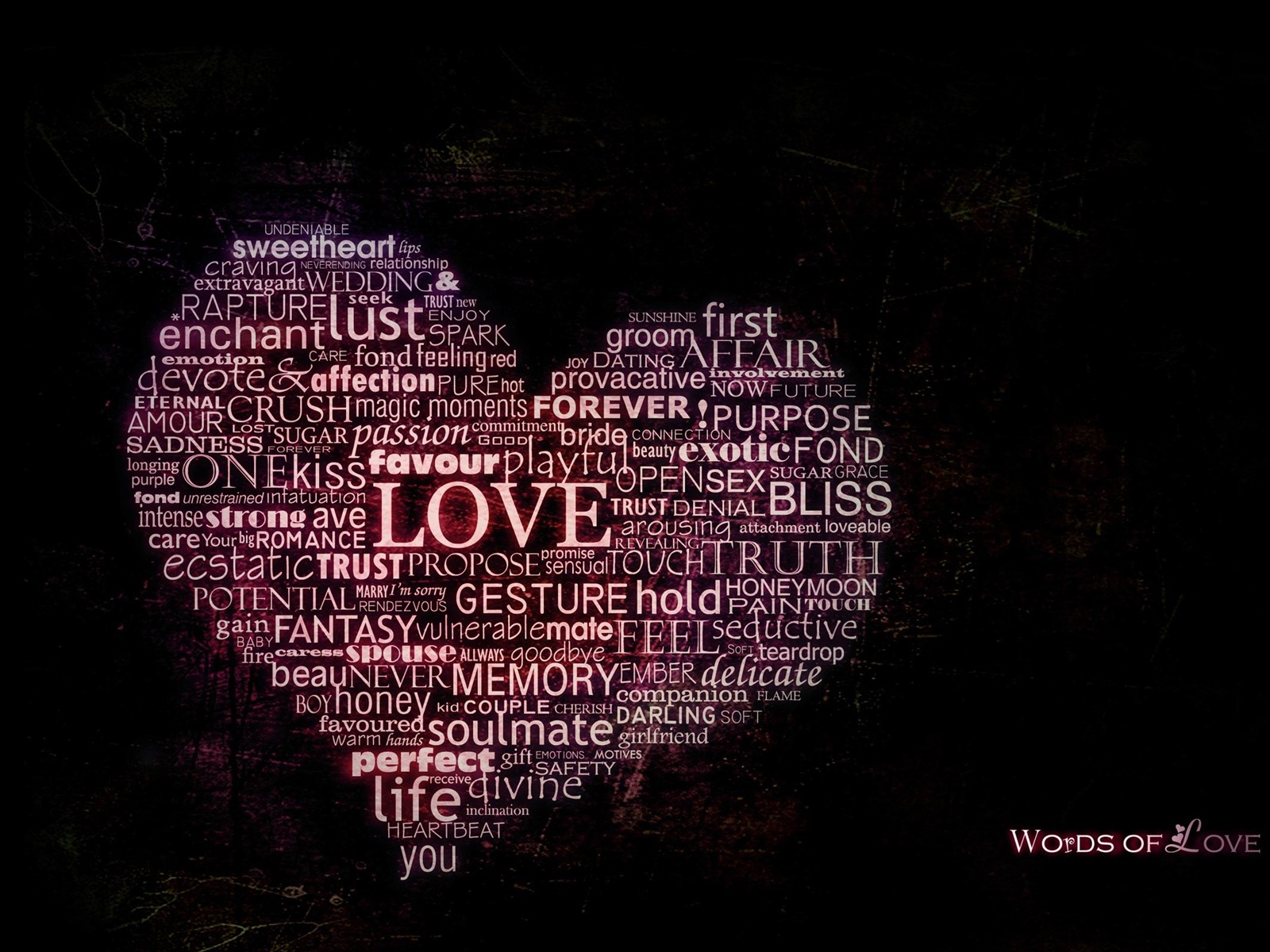 Love Theme Wallpaper Desktop : words of love-love theme Desktop Wallpapers-1600x1200 Download 10wallpaper.com