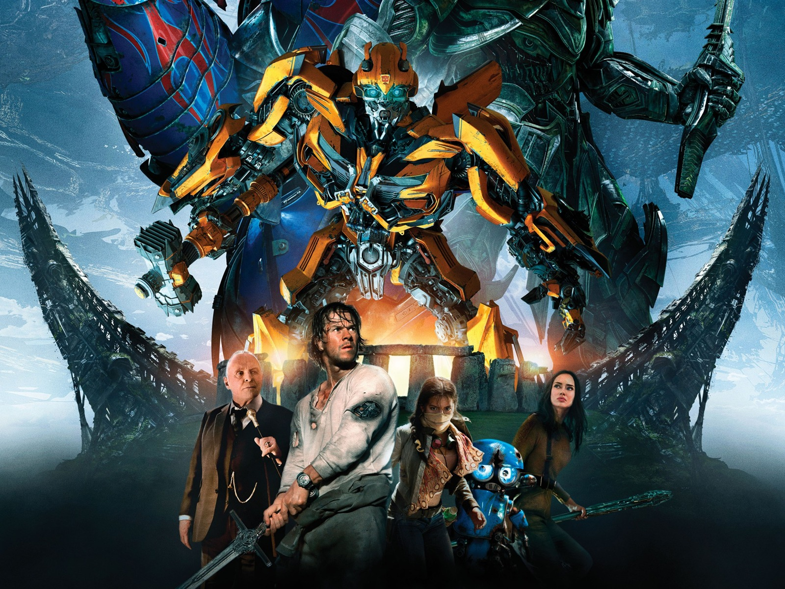 Bumblebee Transformers The Last Knight-2017 Movie HD Wallpapers - 1600x1200 wallpaper download