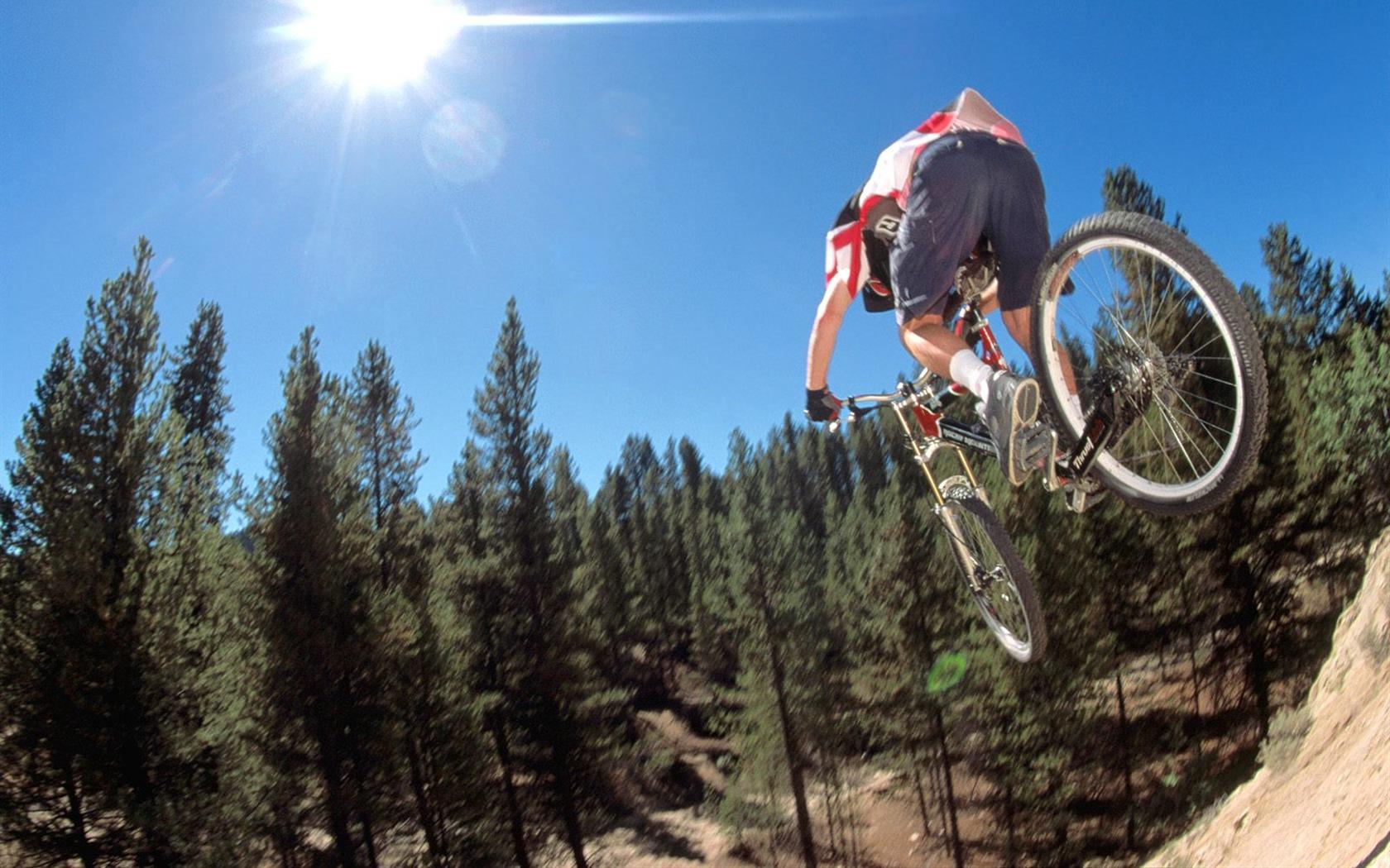 mountain biking sport wallpaper 1680x1050 wallpaper