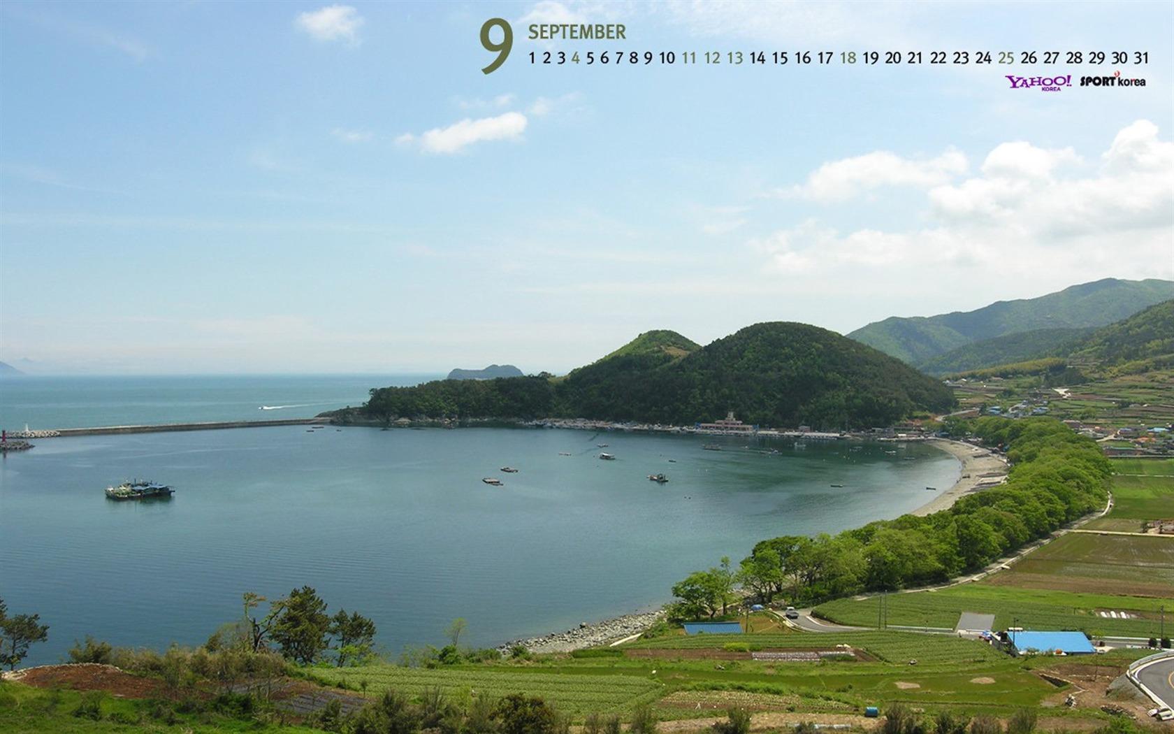 Description: September-Calendar-Jeju Island Wallpaper 03 Current Size ...