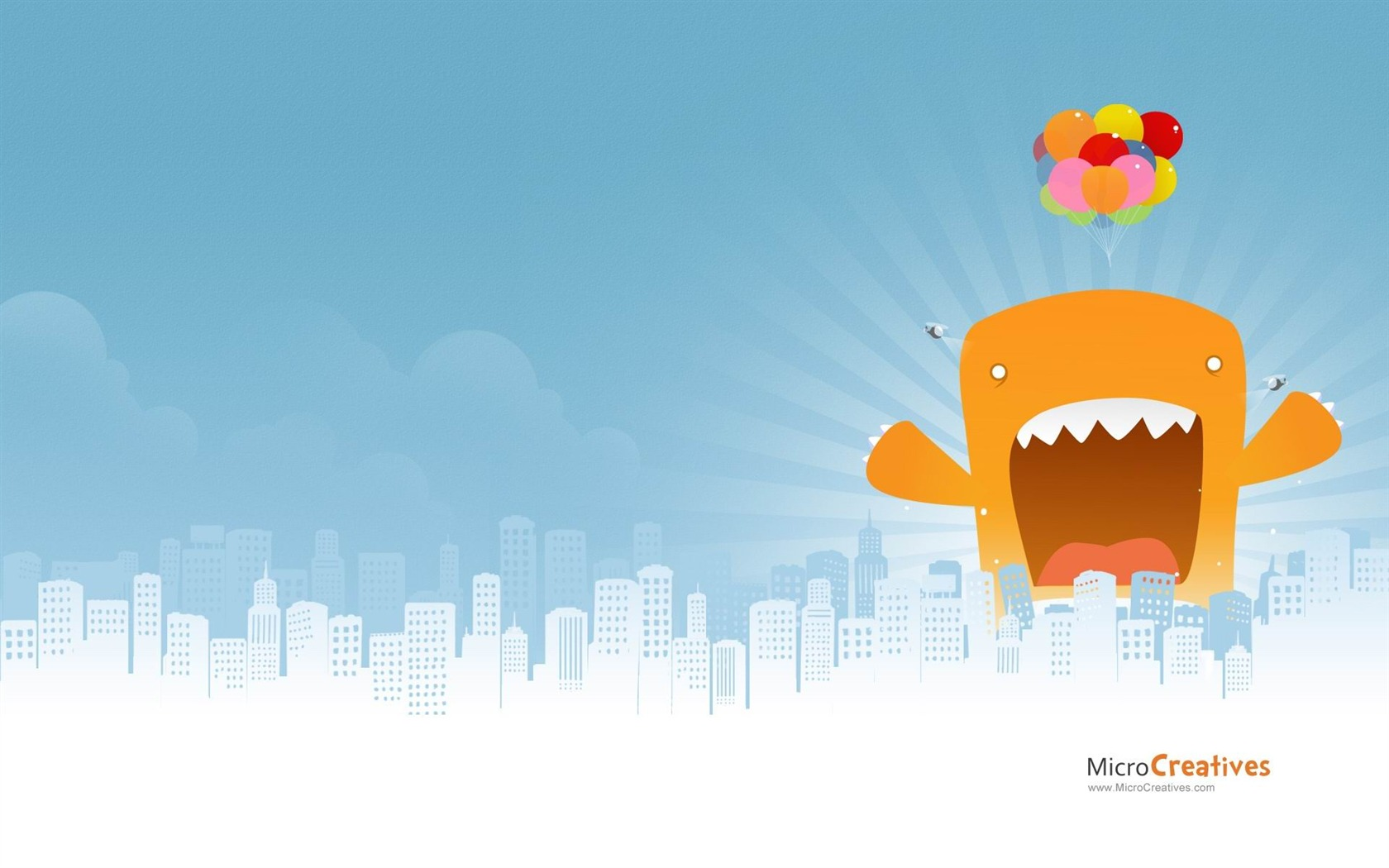Monster Attack Creative Graphic Design Wallpapers