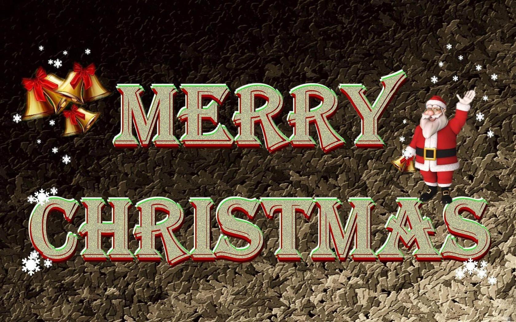 ... ハッピークリスマスの壁紙 現在のサイズ: 1680 x 1050