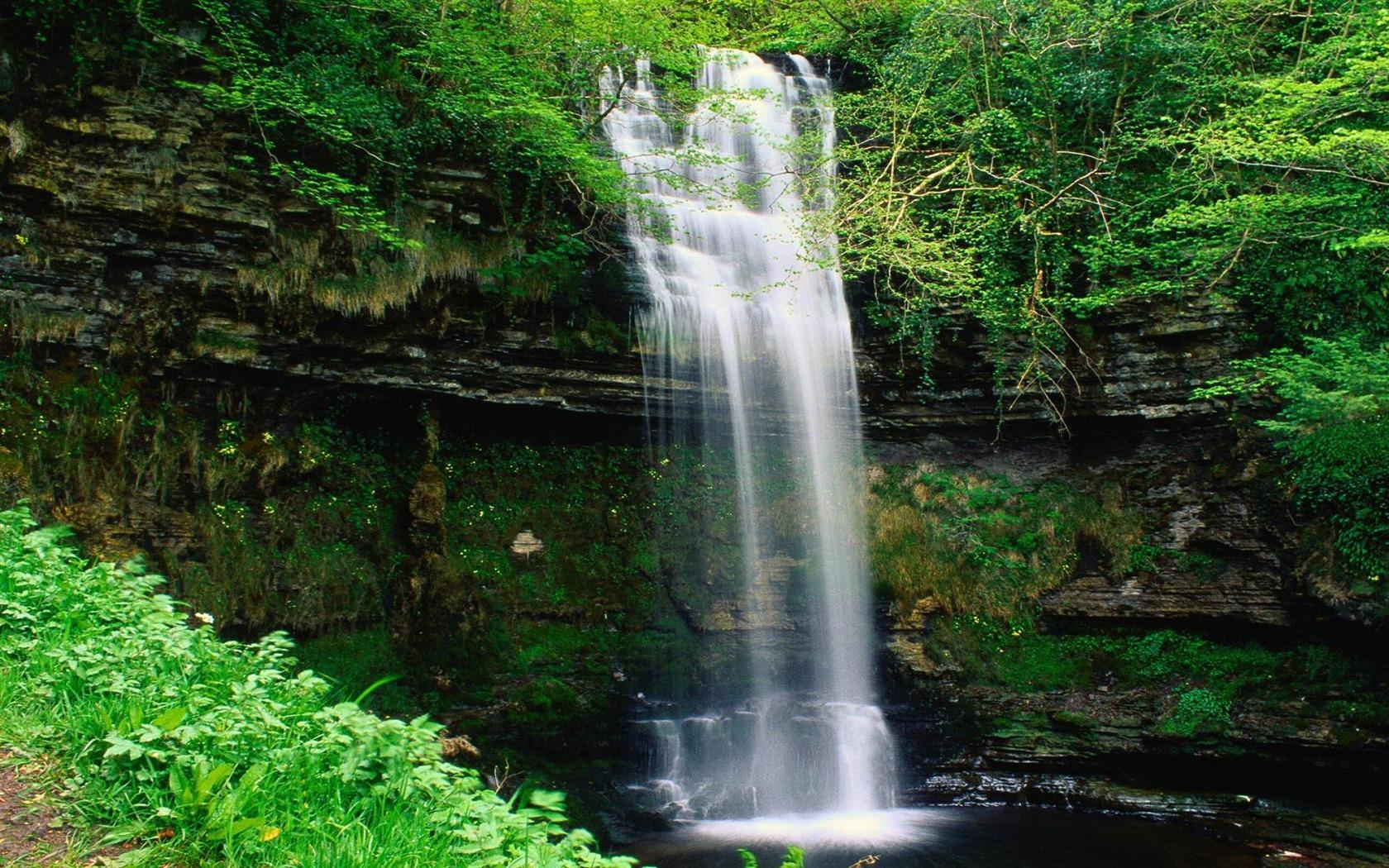 9 Spectacular Hd Waterfall Wallpapers To Download: Spectacular Waterfalls Widescreen Desktop Wallpaper 08