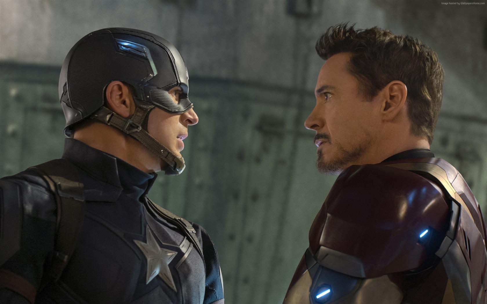钢铁侠-美国队长3:英雄内战 壁纸
