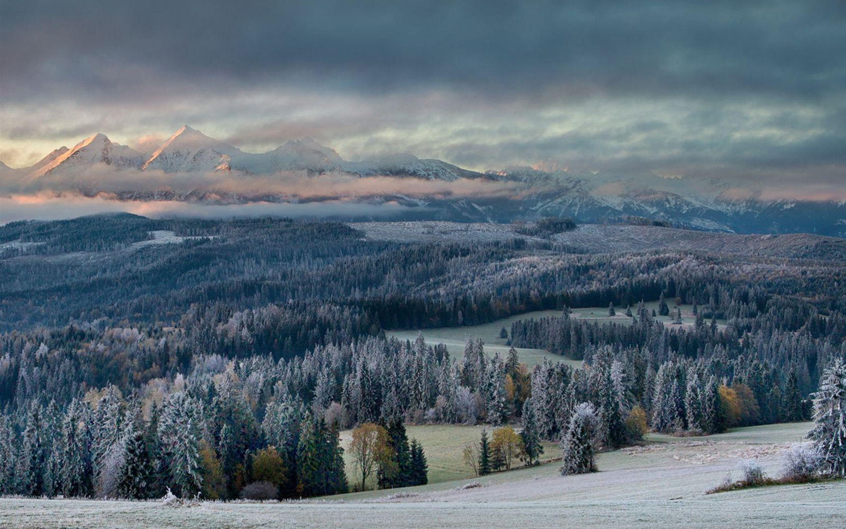 First Touch Of Winter National Geographic Photo Wallpaper