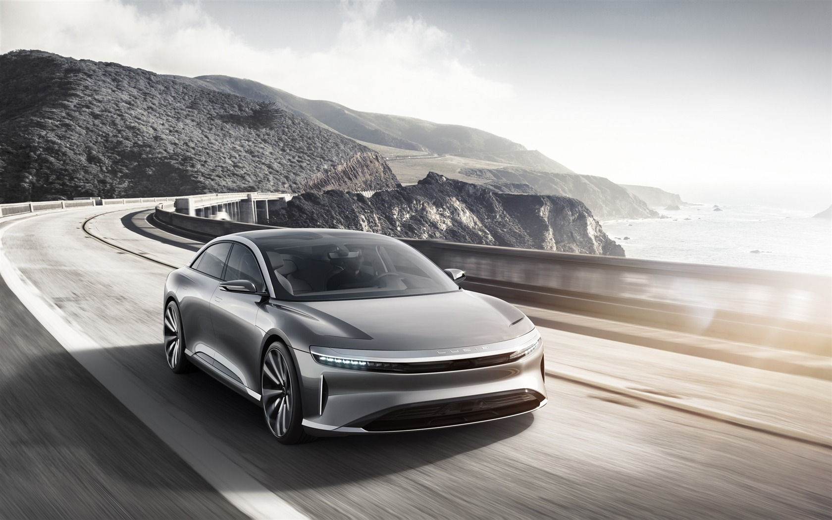 Lucid air luxury electric car-Brand Car HD Wallpaper - 1680x1050 wallpaper download
