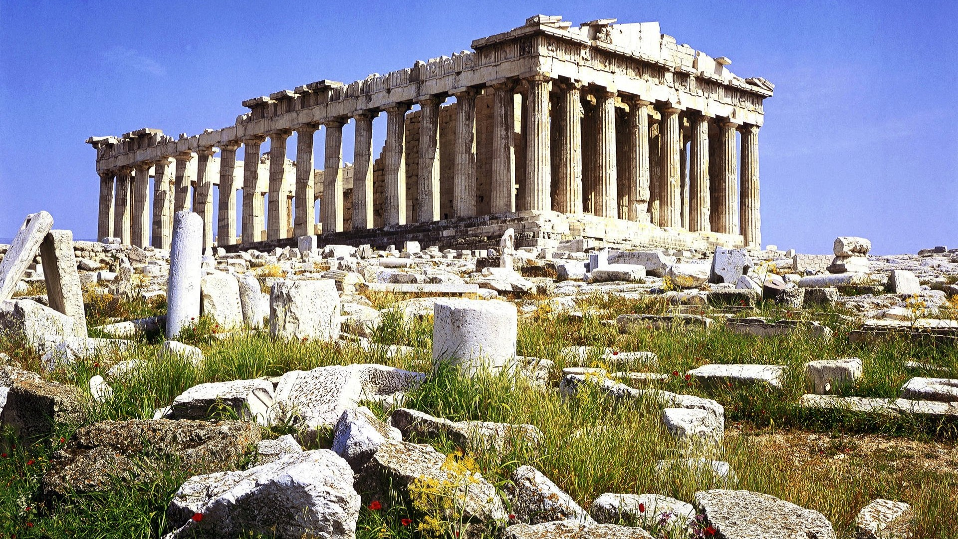 Athens Greece-Parthenon wallpaper - 1920x1080 wallpaper download