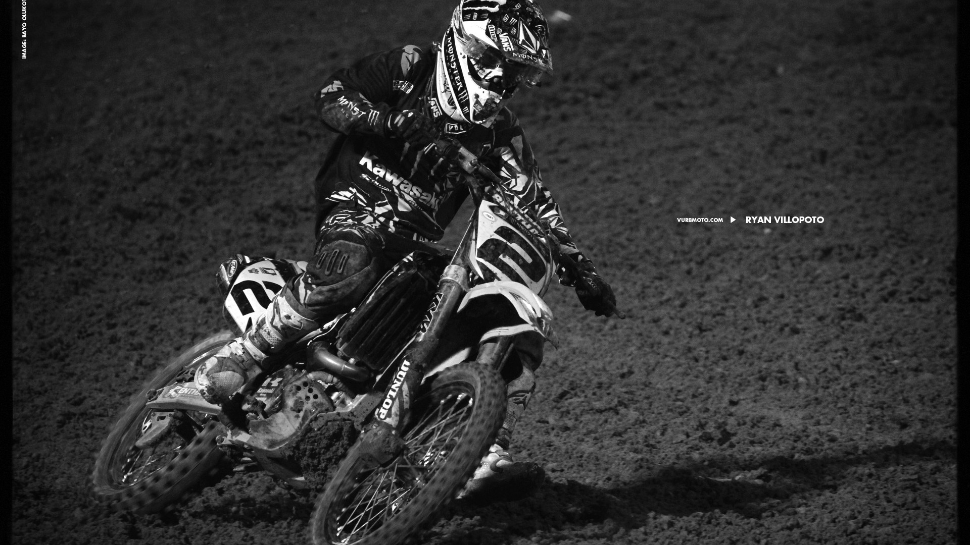 AMA Supercross Fourth Stop Auckland Ryan Villopoto Wallpaper  1920x1080 Download