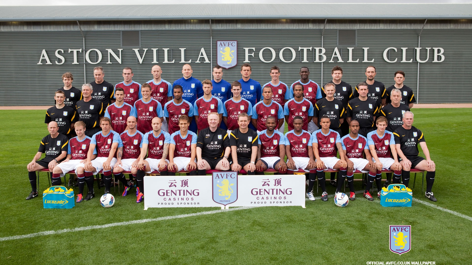 Aston Villa Football Club Desktop Wallpaper-1920x1080