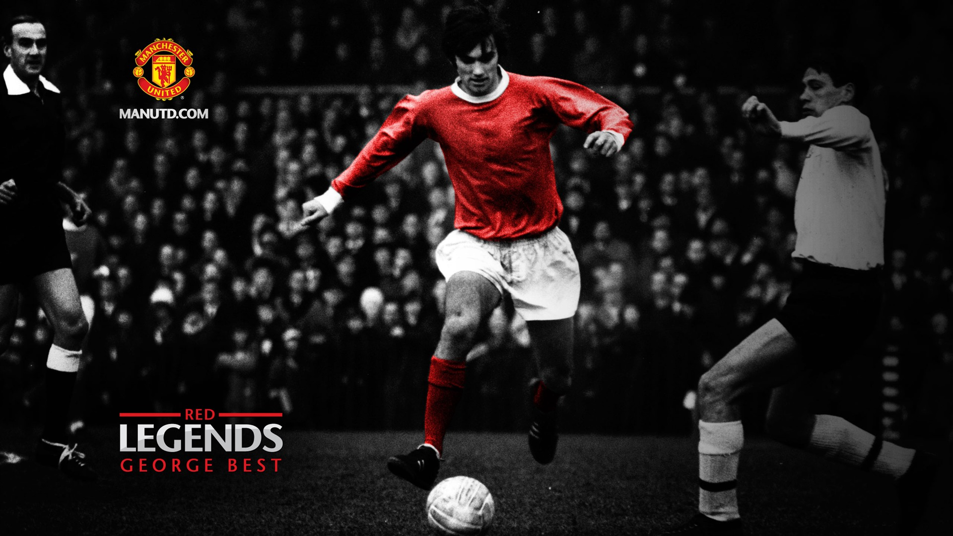 George Best Red Legends Manchester United Wallpaper Preview