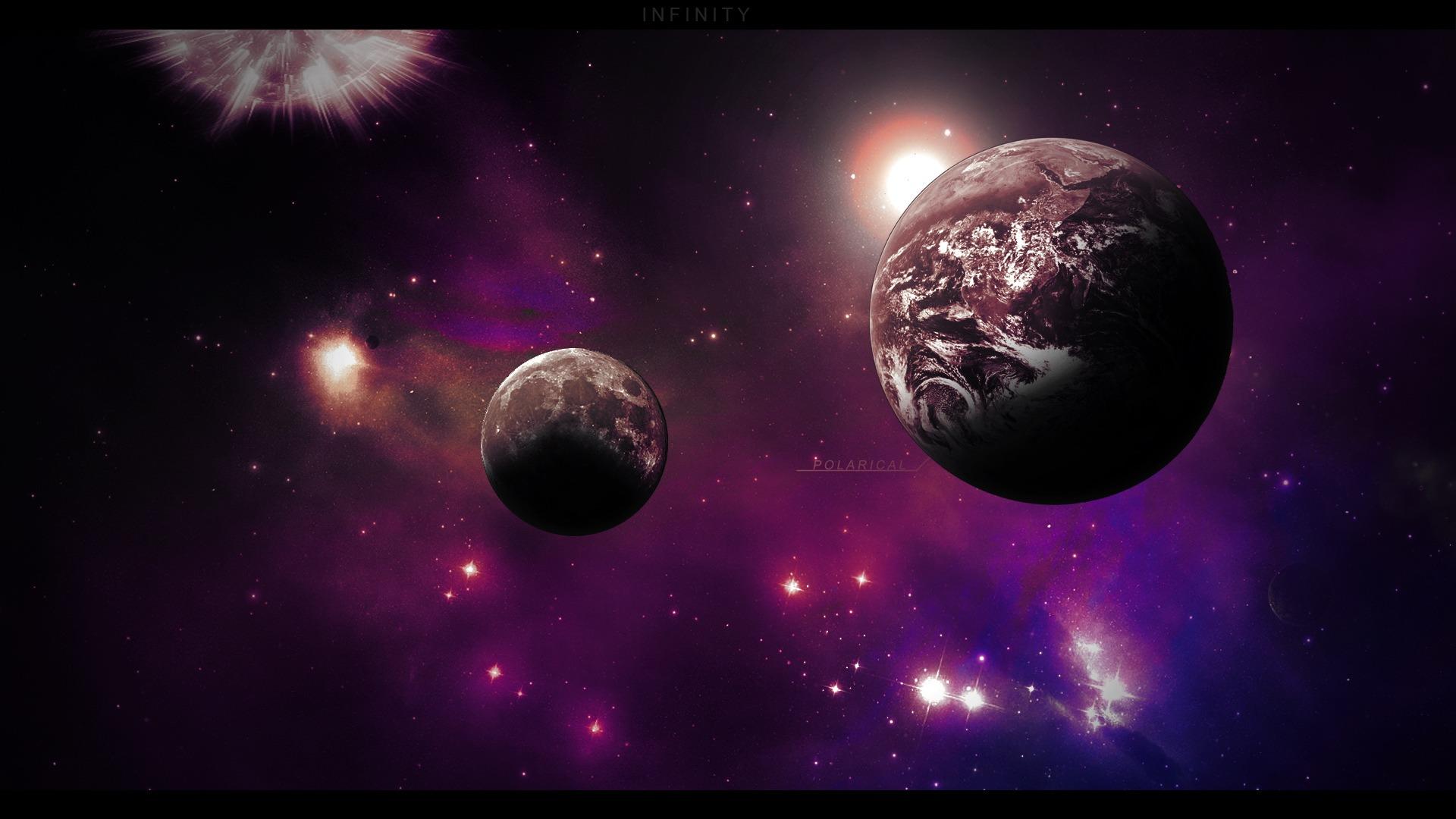 Aesthetic Dream Space Hd Desktop Wallpaper 01 Preview