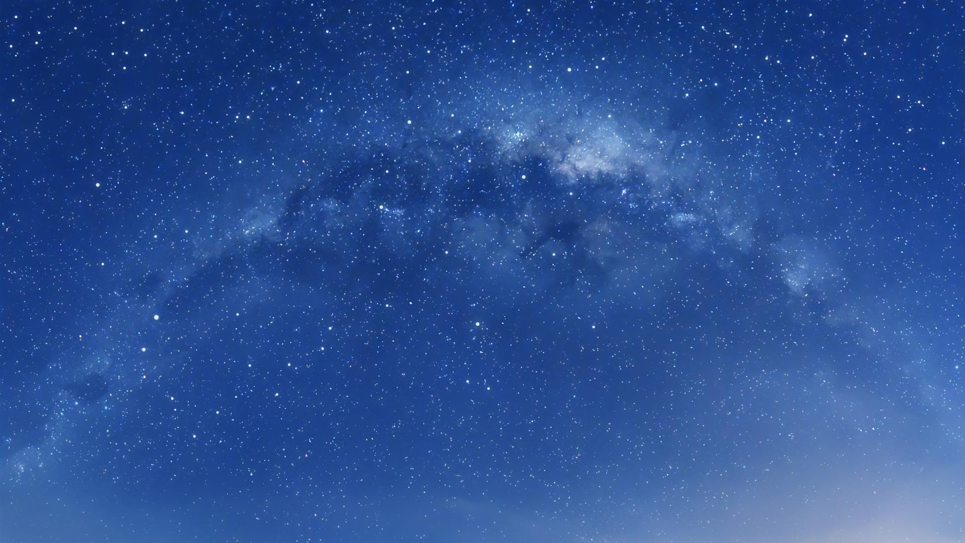 描述: 星空中的银河-mac os 壁纸 当前壁纸尺寸: 1920 x 1080图片