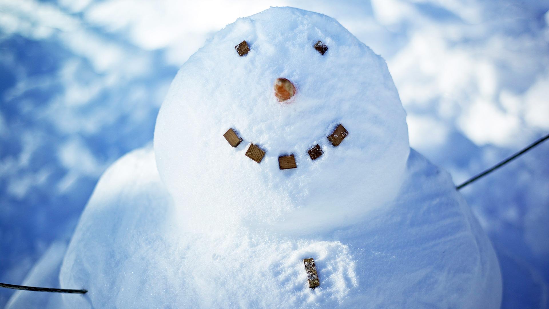 Aesthetic Cute Snowman Christmas Hd Computer Wallpaper 21