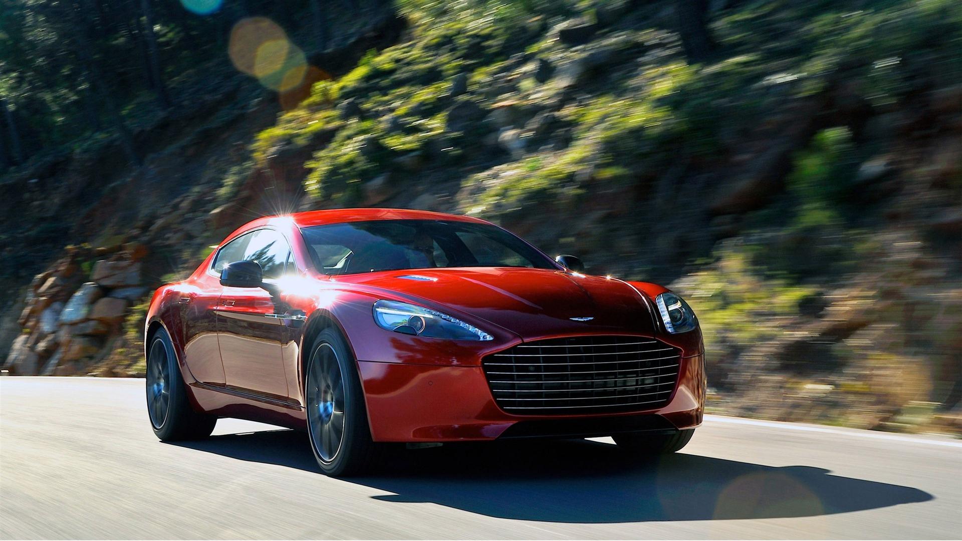 Fondo De Pantalla De 2014 De Aston Martin Rapide S Auto Hd
