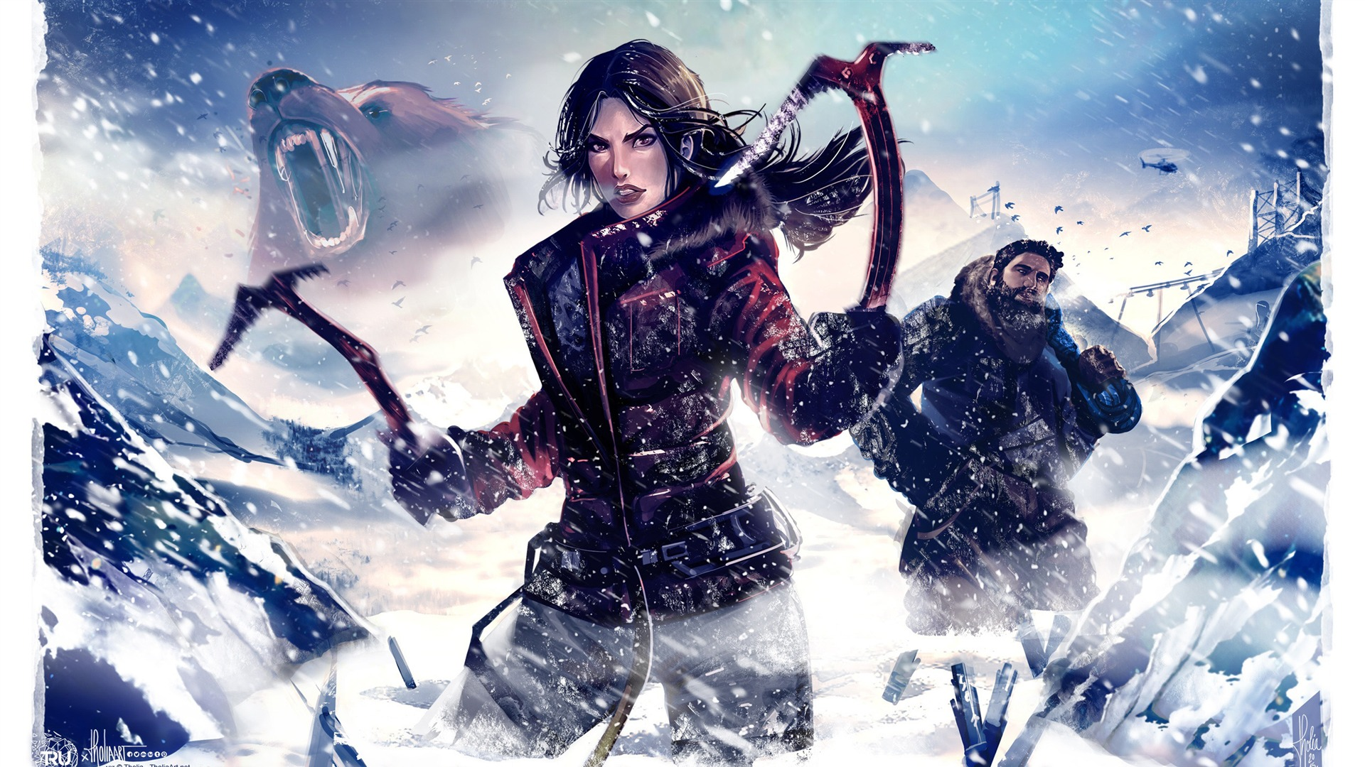 Rise Of Tomb Raider 2015 Hd Game Wallpaper 16 Preview