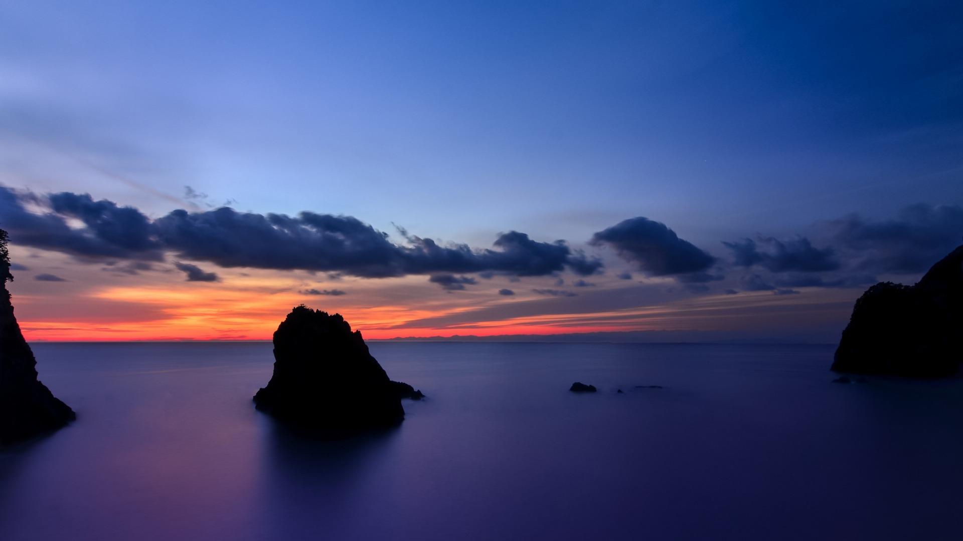 Shizuoka Beach-Scenery Japan HD Prefecture Island Desktop