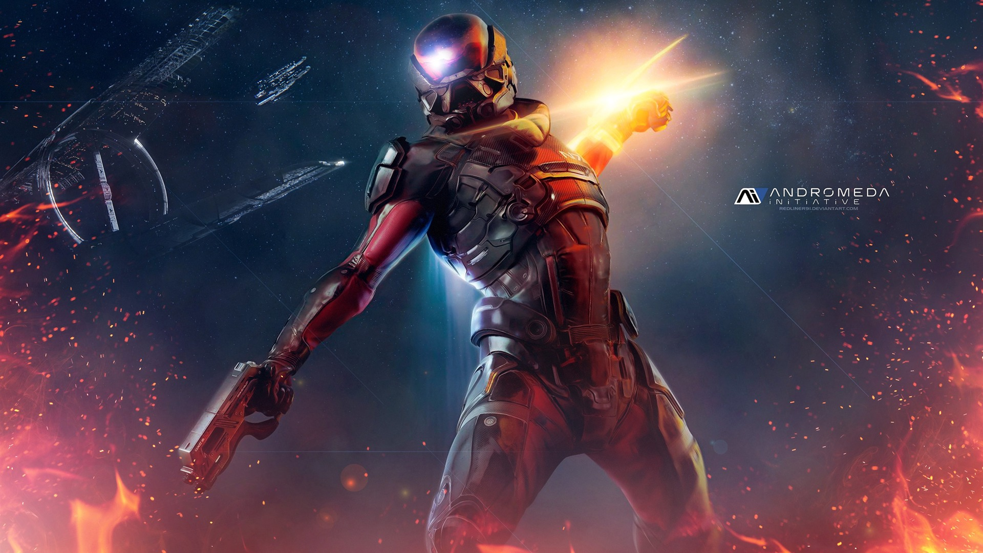 Mass Effect Andromeda 2017 Game Wallpaper 10 - 1920x1080 wallpaper download
