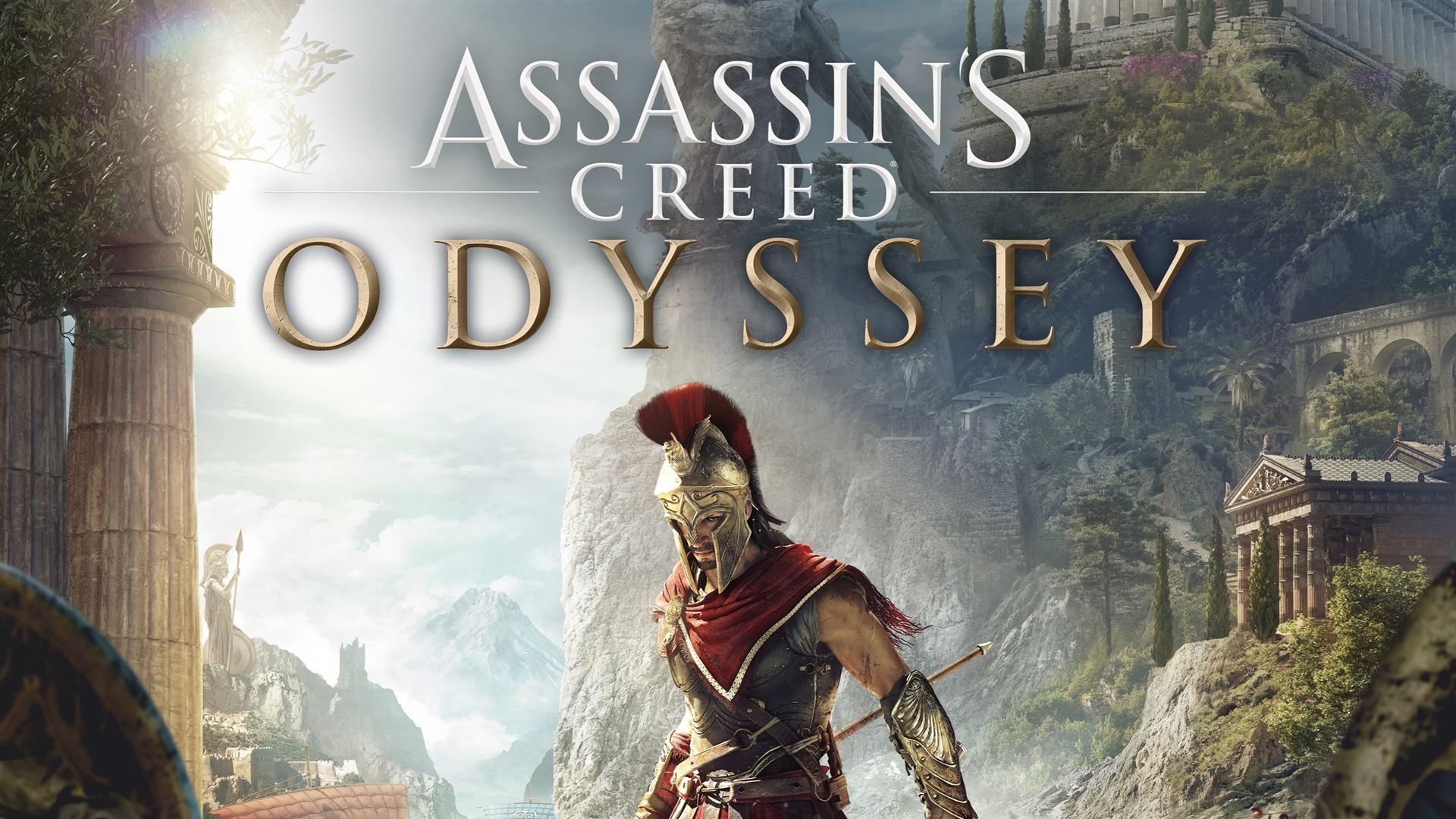 刺客信条,奥德赛,E3,游戏,海报预览 | 10wallpaper.com