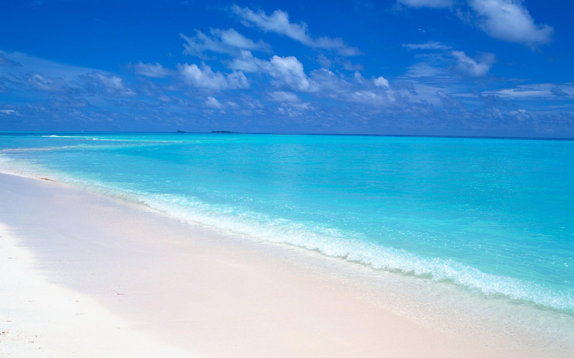 Custom 3d Photo Wallpaper Hd Maldives Sea Beach Natural: Maldives White Beach Wallpaper-1920x1200 Download