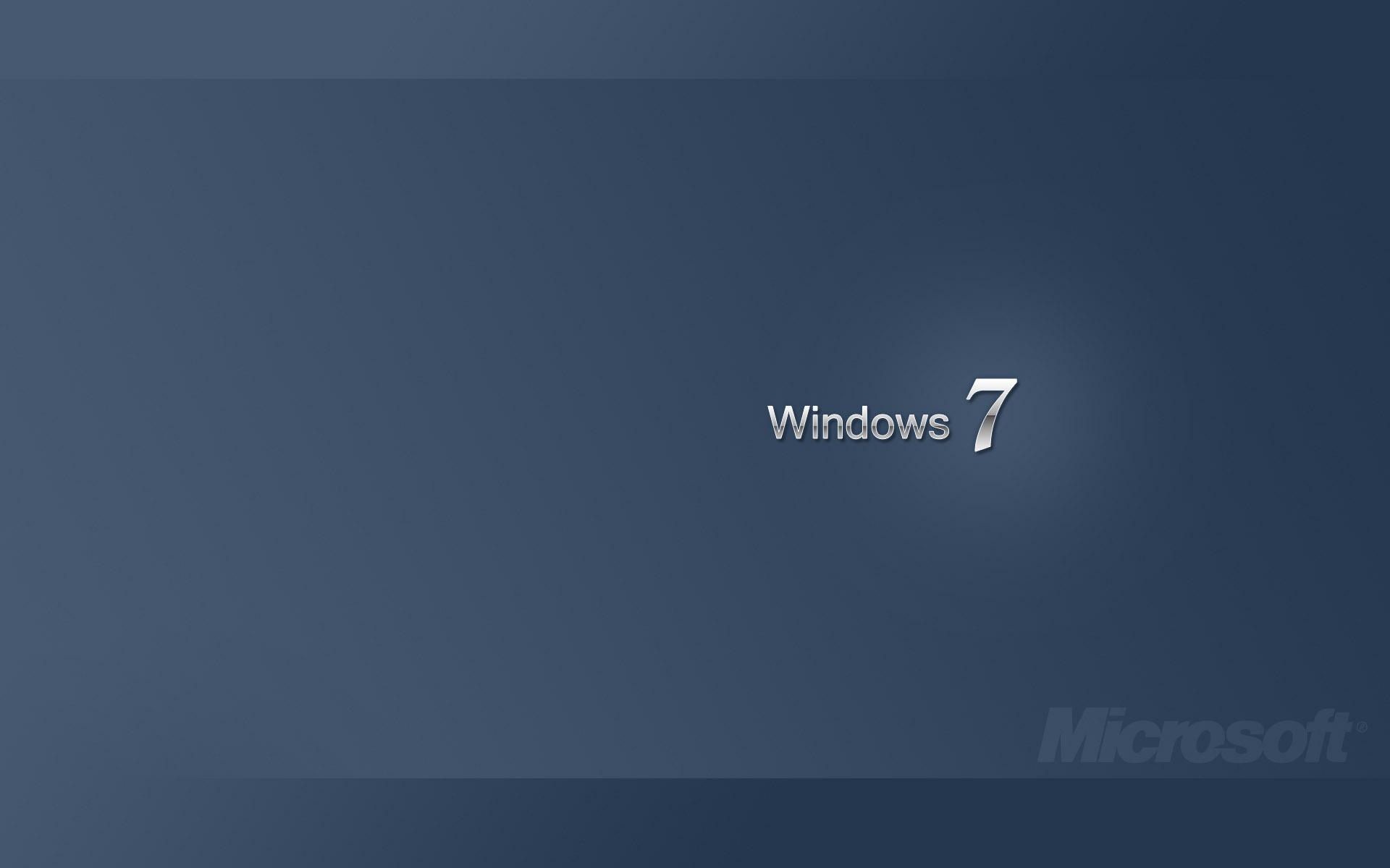 メタル windows 7- ブランドの壁紙の選択 / 1920x1200