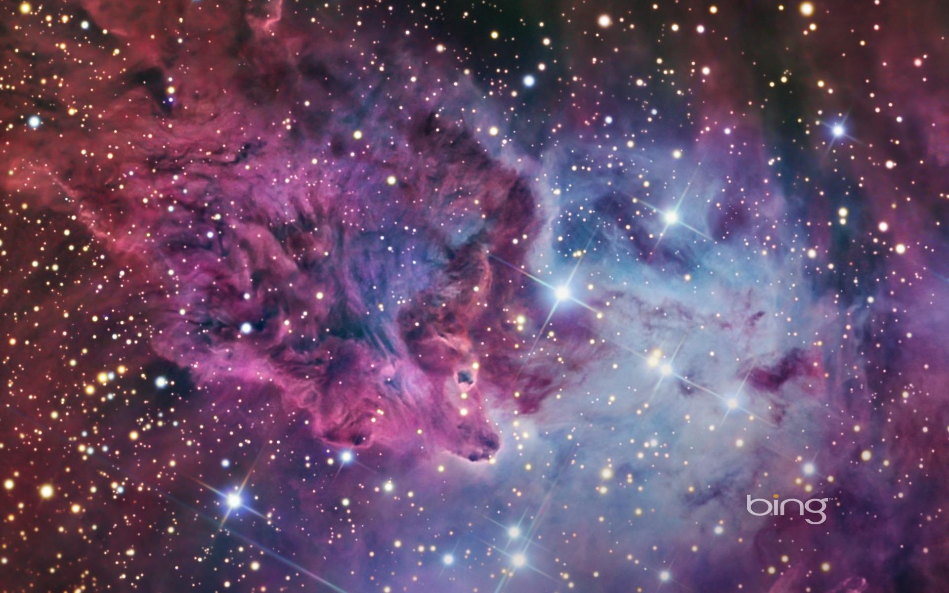 A large HII nebula-Bing Wallpaper-1920x1200 Download ...