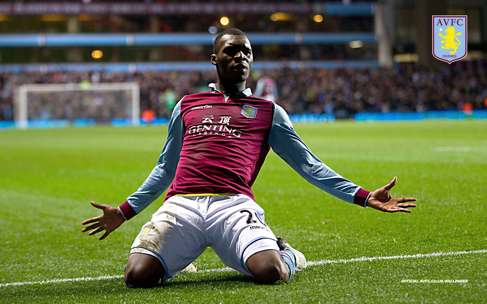 Brilliant Benteke-Aston Villa 2013 HD Wallpaper Preview