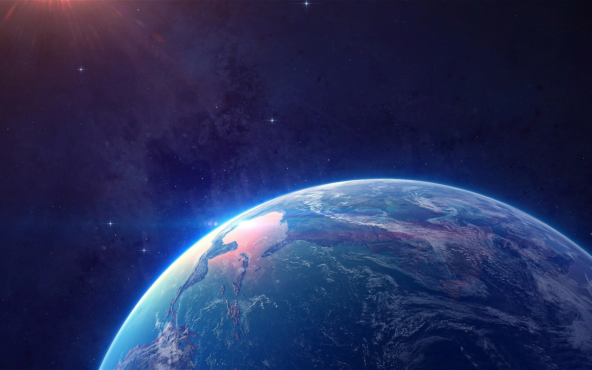 planet earth from space - HD1920×1200