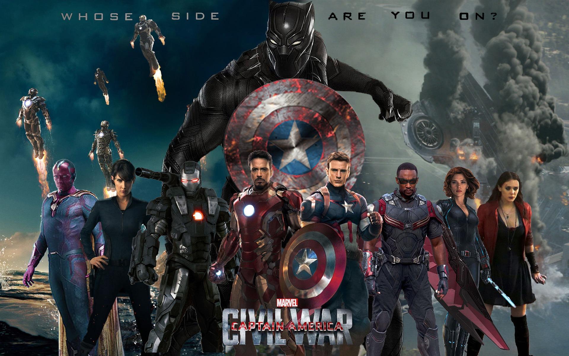 电影高清壁纸_美国队长3 captain america:civil war 2016 电影高清壁纸 - 1920x
