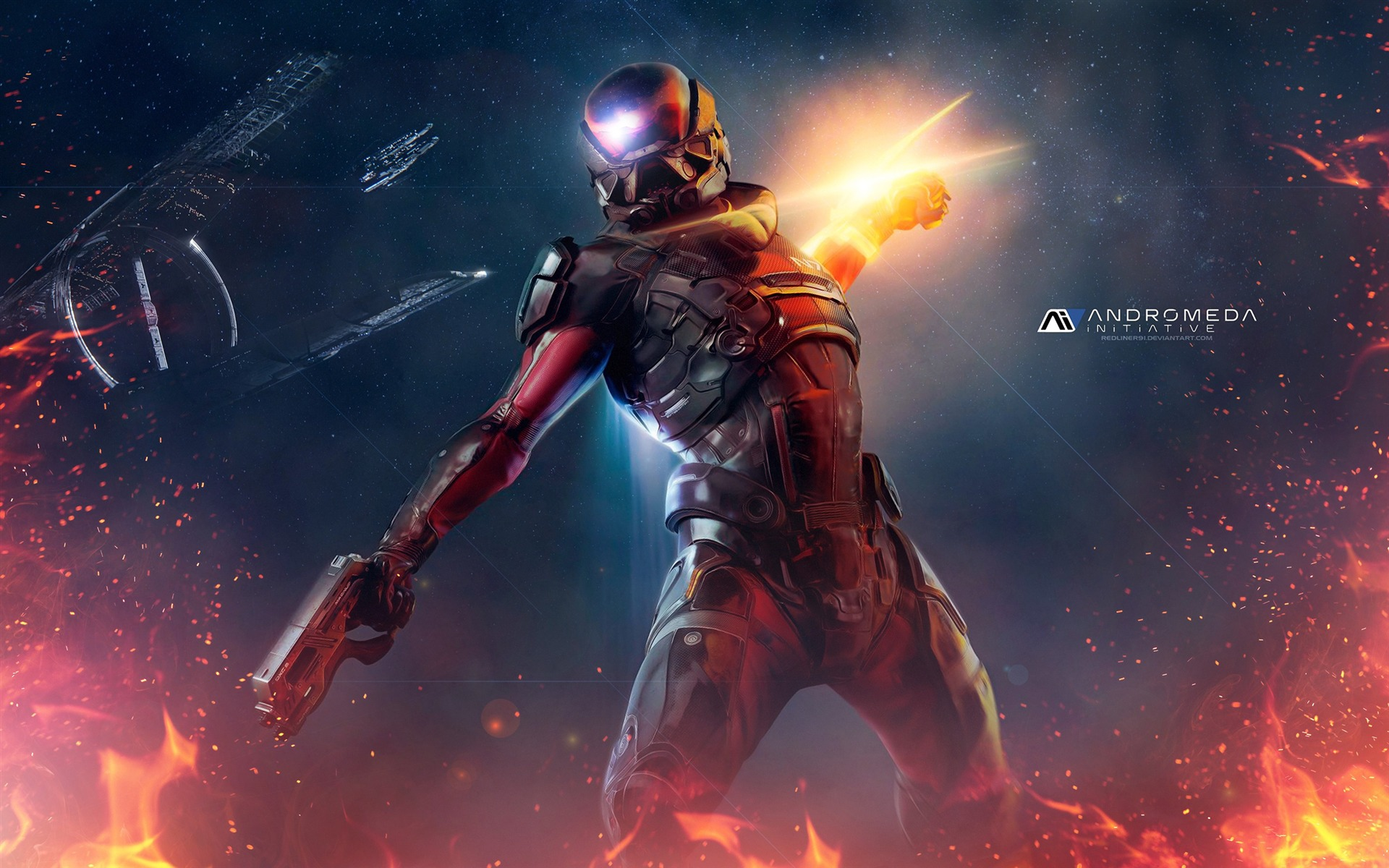 Mass Effect Andromeda 2017 Game Wallpaper 10 - 1920x1200 wallpaper download