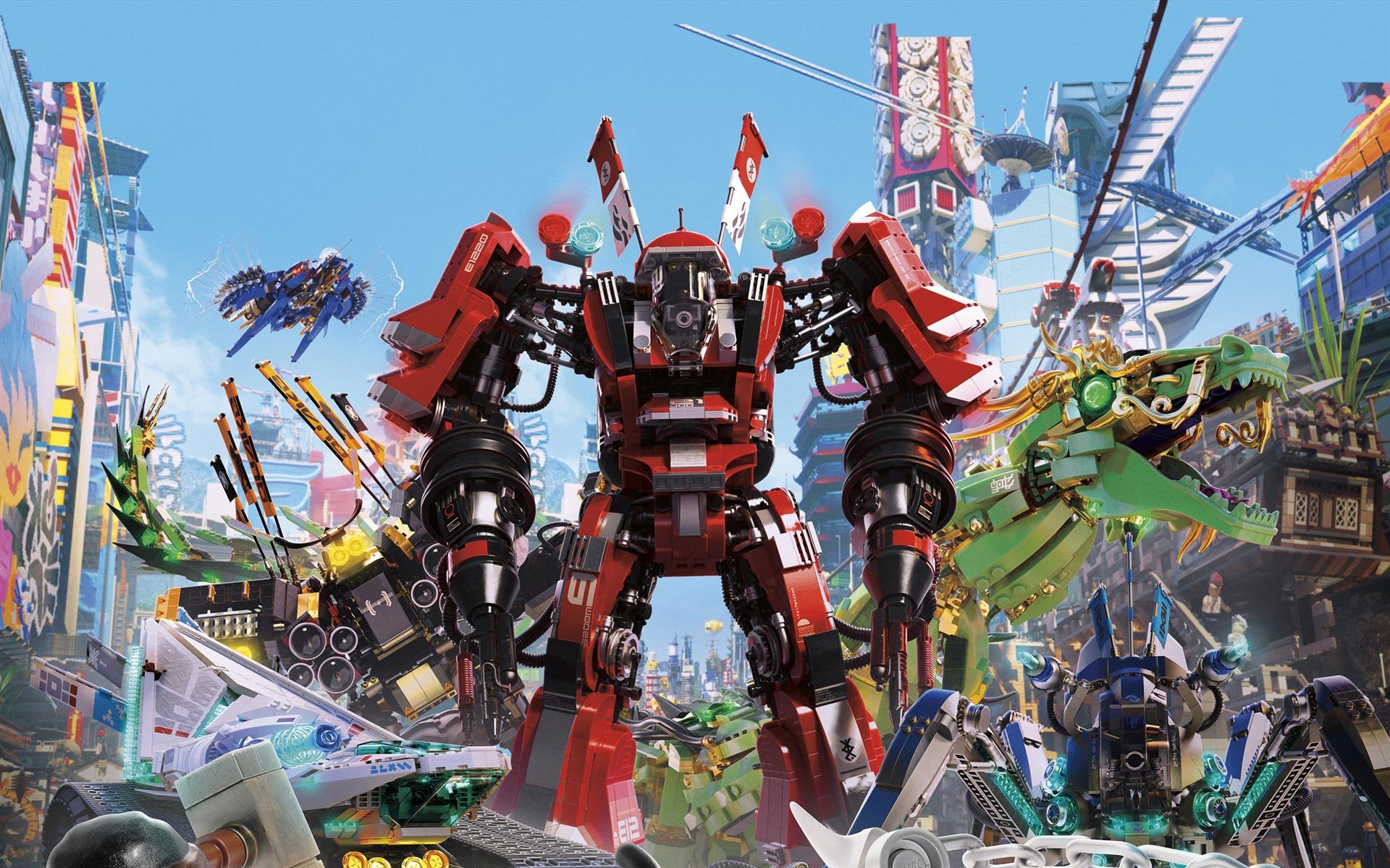 乐高幻影忍者大电影 The LEGO Ninjago Movie高品质壁纸预览 | 10wallpaper.com